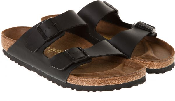 Birkenstock Black Flat Sandal For Men  09e725911cf