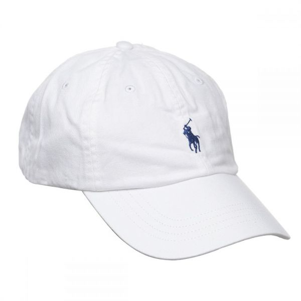6efb5fb69bcda Polo Ralph Lauren Signature Pony Cap with Leather Buckle Strap for ...