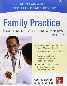 Family Medicine Examination and Board Review 3rd Edition by Mark Graber - Paperback