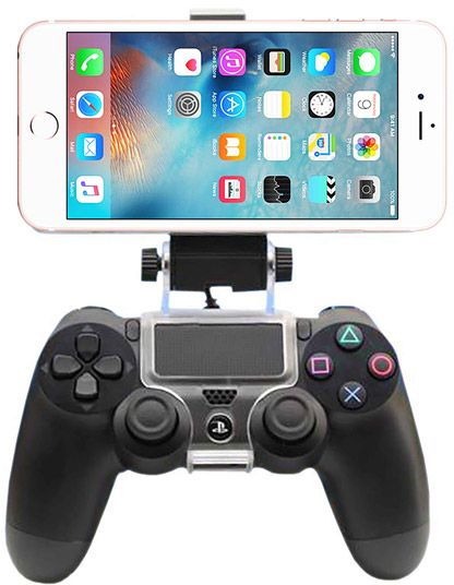 timeless design 6a8b4 cf2e5 For iPhone 6S Plus, 6 PLus, 6S, 6, 5S, 5 - Game Controller Mount Clip  Holder for PlayStation 4 PS4