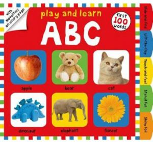 Play and Learn ABC by Roger Priddy - Hardcover