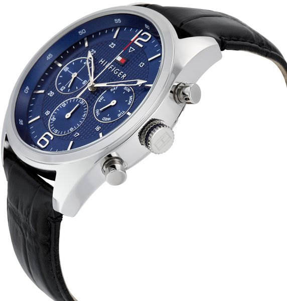 Tommy Hilfiger Multifunction Watch For Men Analog Leather Band