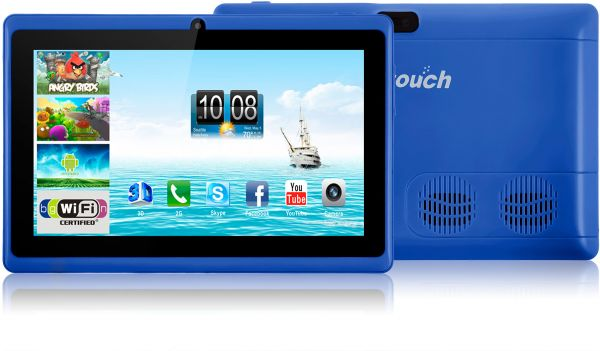 Mtouch M70 Plus Tablet - 7 Inch, 8GB, 512MB, Blue