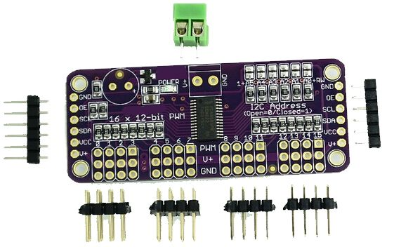 i2C Communication Expansion PCA9685 Module Board for Arduino
