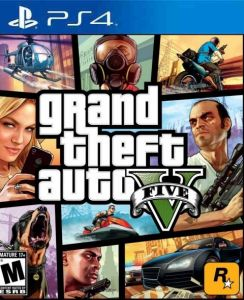 54323a4ca15 Grand Theft Auto V Five ( GTA 5) Play Station 4   PS4 Videos Games ...