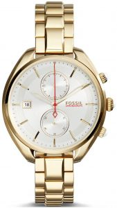 2fa81b556 Fossil Land Racer Women's Silver Dial Stainless Steel Band Chronograph Watch  - CH2976