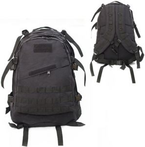 40L Molle 3D Tactical Outdoor Military Rucksack Backpack Bag Camping Hiking  Black f7fd2c91aeca2