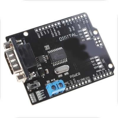 Controller Area Network CAN BUS Shield for Industrial Arduino