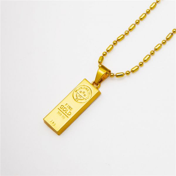 Fashion 18k gold plated hip hop chain necklaces gold we trust fashion 18k gold plated hip hop chain necklaces gold we trust pendants necklace for men aloadofball Choice Image