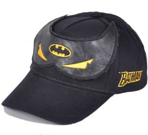 fd76eb2a442 Fashion cool Batman cartoon peaked cap spring-summer hip hop baseball cap  for boys black BH10-4