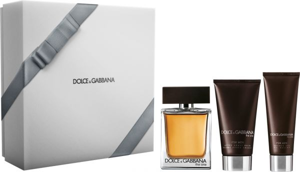 Dolce   Gabbana The One 3 Pc EDT 100ml, After Shave Balm 75ml   Shower Gel  50ml - for Men a8ca59056f0b