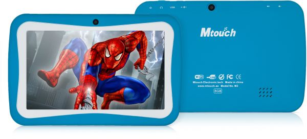 Mtouch M2 Plus Kids Tablet - 7 Inch, 8GB, 512MB RAM, Blue