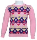 Little Star 5017 Pullover For Boys - Pink, 4 To 5 Years (Top)