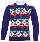 Little Star 5017 Pullover For Boys - Purple, 4 To 5 Years (Top)