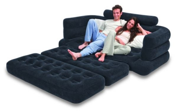 Phenomenal Intex Two Person Inflatable Pull Out Sofa Bed Sb Lg 68566 Black Alphanode Cool Chair Designs And Ideas Alphanodeonline