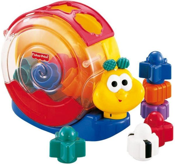 Fisher Price Musical Singin Snail Amusement Toy Multicolor 71922