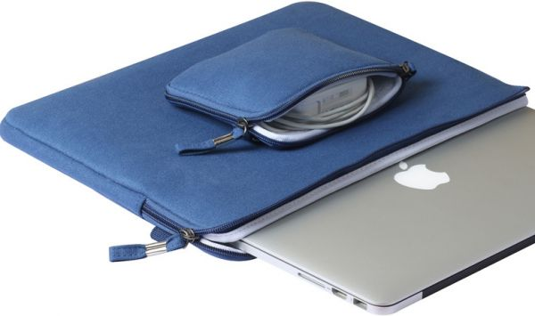 the best attitude eb0ae 63706 13‑inch MacBook Air Soft Case Bag Cover Sleeve Pouch For Apple MacBook Air  13 inch Blue
