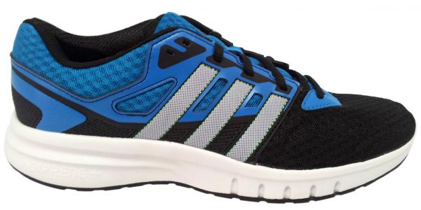 low priced 82a87 4d418 Adidas B33654 Running Shoes for Men - 10 US, Black & Blue