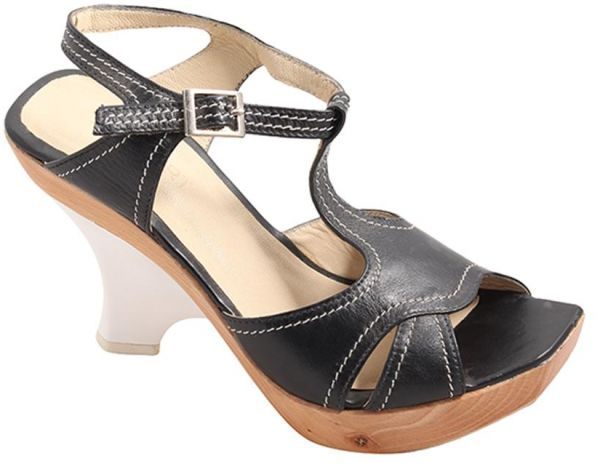 Price Review And Buy Short Black Heel Sandal For Women