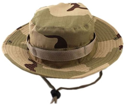 20d1c988ce5 Bucket Hat Boonie Hunting Fishing Outdoor Cap - Wide Brim Military ...
