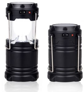 Solar Power Outdoor Portable Lantern Camping Lamp Rechargeable for pho...