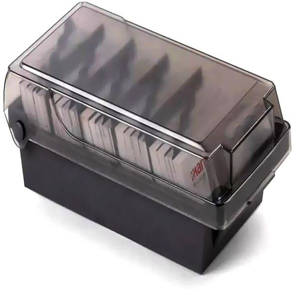 Business card holder rolodex with alphabet 600cards office business card holder rolodex with alphabet 600cards colourmoves