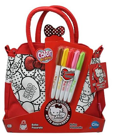 Color Me Mine EX86324 Hello Kitty Tote Bag Craft Activity Kit 75ab583dd1485