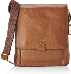 2db092fd60e1 Hidesign Aiden 02 Medium Messenger Bag for Men - Genuine Leather