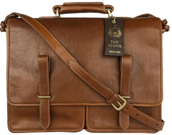 Hidesign Parma Icon Messenger for Men - Genuine Leather. c021793c28edf