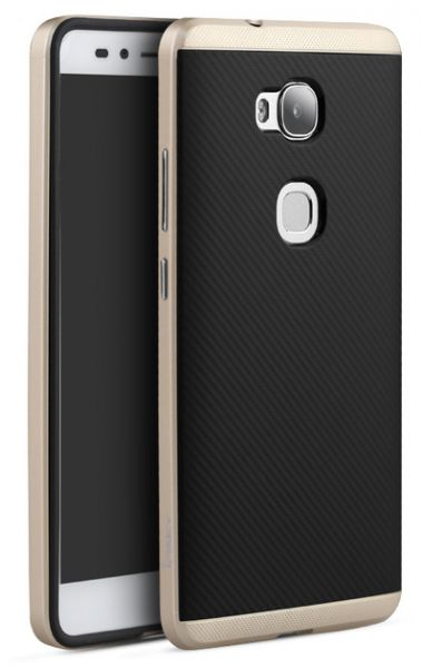 big sale 963fa 7c79b iPAKY Back Cover Case For HUAWEI GR5 - Gold Price in Egypt | Souq ...