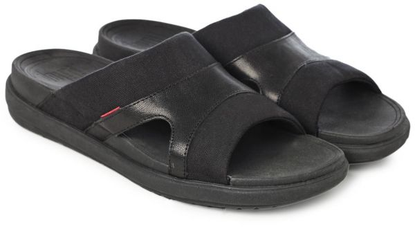 7a056e7efeac46 FitFlop Black Thong Sandal For Men