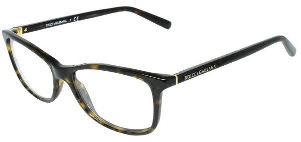 e6c11bf0822 Dolce   Gabbana Rectangular Full Rim Frames for Women - Havana Price ...