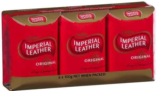 Imperial Leather Original Ivory Bar pack Of 6 100g