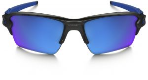 59e1ce96048 Oakley Flak 2 XL Sport Sunglasses Polished Black with Ice Iridium OAK9188-23