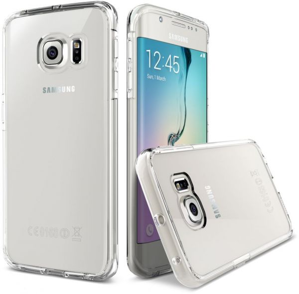 best website 85ff0 7d1ae Samsung Galaxy S7 Edge TPU Case Cover -Clear