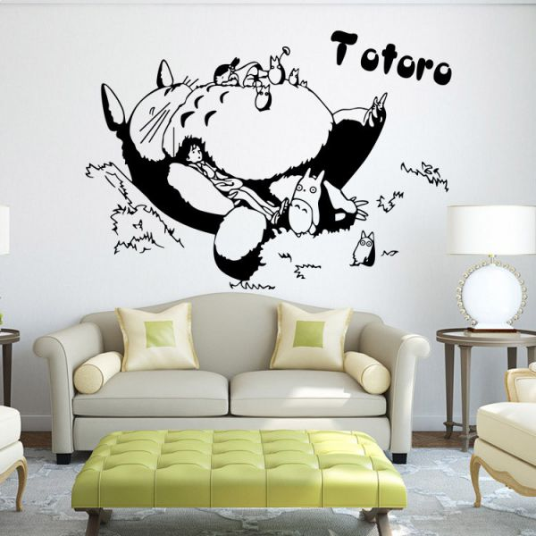 Totoro Home Furnishing Decoration For Kids Rooms Decals Home Decor ...