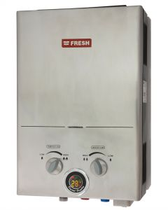 Fresh Gas Water Heater 6 Litre Stainless