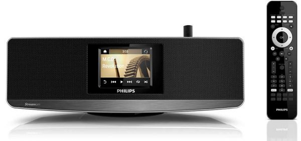 Phillips wireless hi fi system for android NP 3900/12