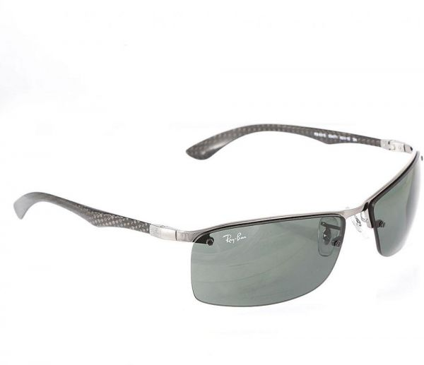 37e7ce6f8e6 Ray-Ban Rectangular Frame Sunglasses for Men - RB8315-004 7163 ...