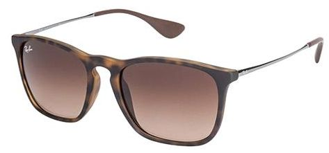 14e09ef41c1 Ray Ban Chris Tortoise Unisex Sunglasses - RB 4187 856 13 54