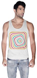 6d9eacc986b94 Creo Abstract 03 Retro Tank Top For Men - M