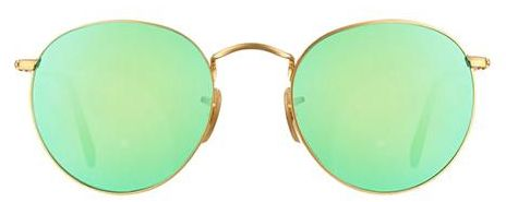 81499b3f6b Ray-Ban Round Sunglasses for Unisex - Full Rim Gold Frame
