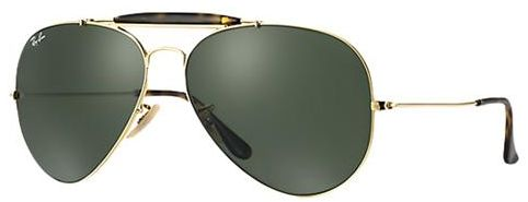 8574bd7c1a Buy Ray-Ban Aviator Unisex Sunglasses - RB3029-181-62 in UAE