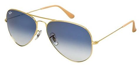 ray ban sonnenbrille aviator xl uv400 golden