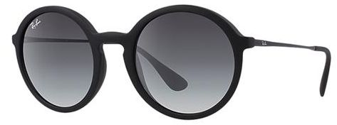 9d850f2202 Ray-Ban 4222-50-622-8G Round Sunglasses For Unisex-Black ...