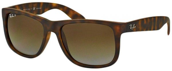 8c049196d9f Ray-Ban Justin Square Sunglasses for Men - RB4165-865-T5