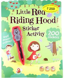 Little Red Riding Hood Sticker Activity - Paperback