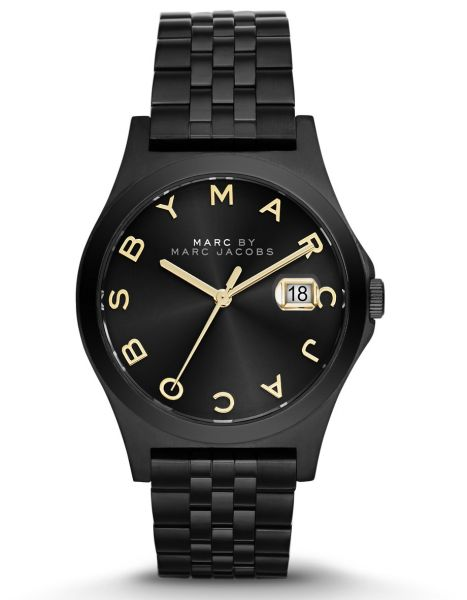 7ce83e0cbf39c Marc by Marc Jacobs The Slim Women's Black Dial Stainless Steel Band Watch  - MBM3354 | KSA | Souq
