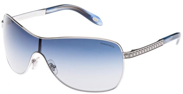 dcf4911e09e Tiffany   Co. Shield Sunglasses for Women - Full Rim Silver Frame ...