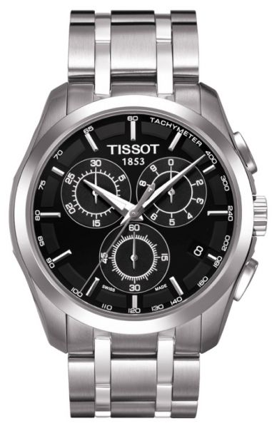 ee2daa795 Tissot Watch For Men, Stainless Steel Band, Quartz, T035.617.11.051.00